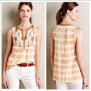 Anthropologie Floreat Sedna Tie Dye Top Small